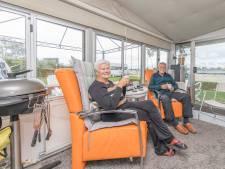 Anton (80) en Emmy (81) Bergman zijn niet weg te slaan van camping de Paardekreek in Kortgene