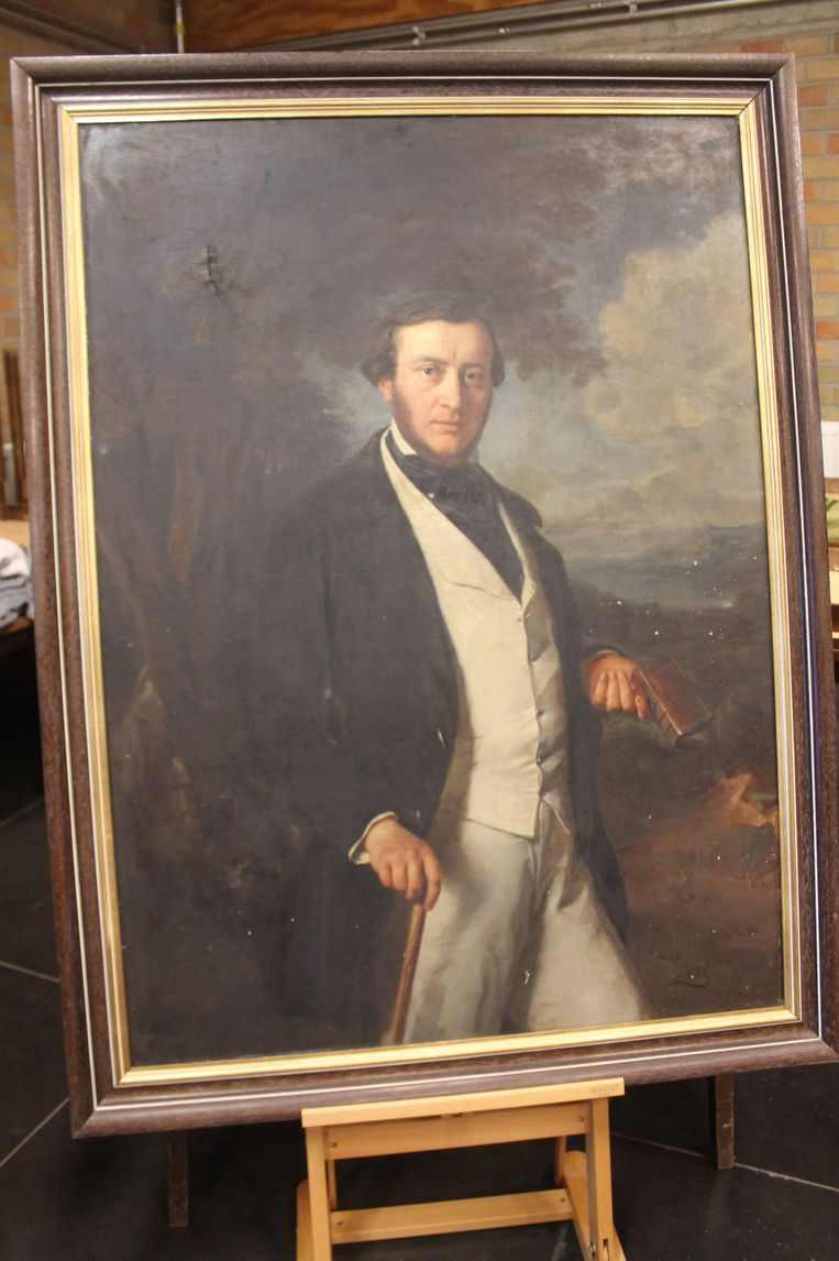 Het nieuwe portret van Frans-Jozef De Gronckel.
