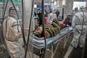 De coronaziekte brak uit in het Chinese Wuhan.