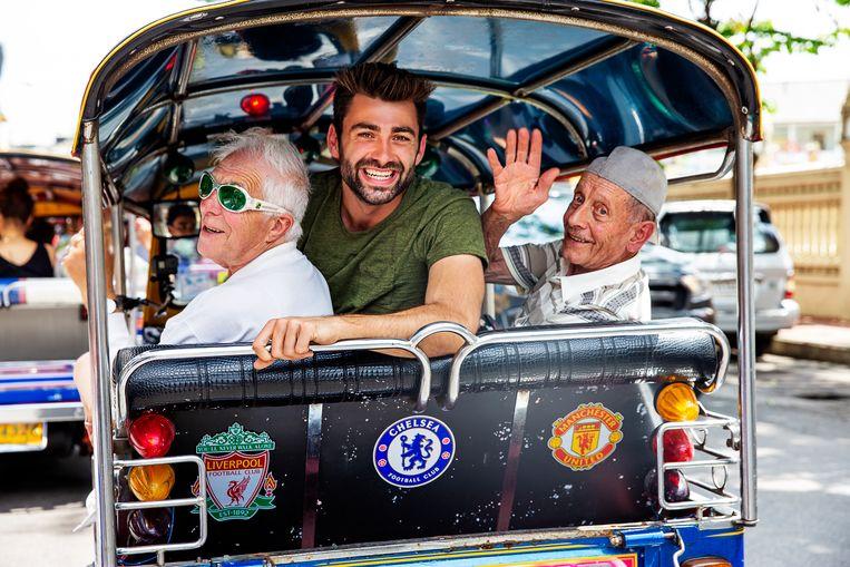 Sieg in een tuktuk, Olga in een helikopter: en of de 'oudjes' het avontuur van hun leven beleefden.