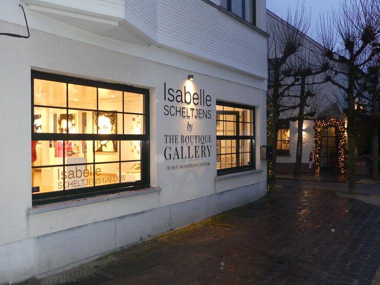 De galerie van Isabelle bevindt zich in hartje Sint-Martens-Latem.