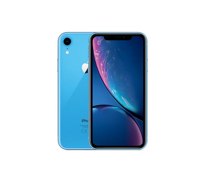 De iPhone XR: dompeldicht