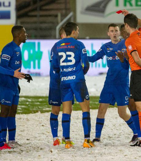 Van den Brom foetert na nederlaag in de sneeuw: 'Dit was een loterij'