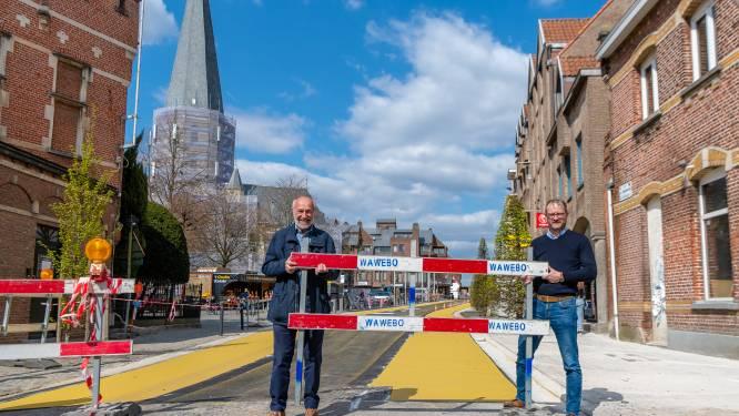 Bazelstraat (N419) opnieuw opengesteld, zone 30 uitgebreid tussen twee verkeerssluizen