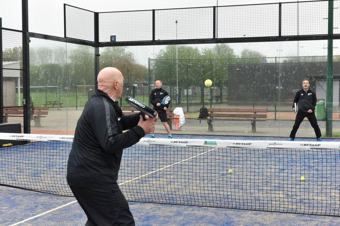 Nieuwe padelbaan van tennisvereniging Bokt