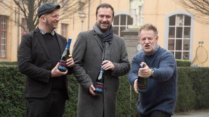 Champagne voor 300 jaar Academie