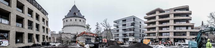 Bijna alles op één beeld: de nieuwe woonbuurt One Broel, met centraal het nieuwe stadspark