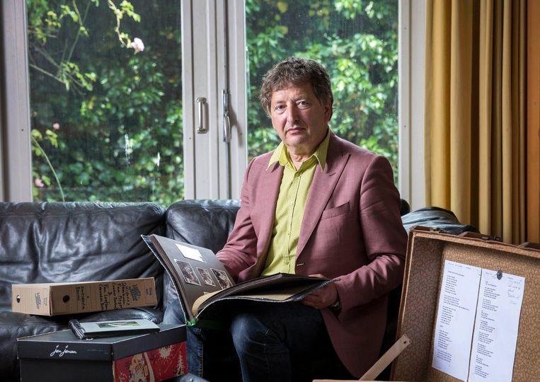 Micha de Winter neemt afscheid als hoogleraar Maatschappelijke Opvoedingsvraagstukken aan de universiteit van Utrecht. Met een verhaal over hoop, die zelfs zijn ouders na de verschrikkingen van de Tweede Wereldoorlog uitstraalden. Beeld Werry Crone