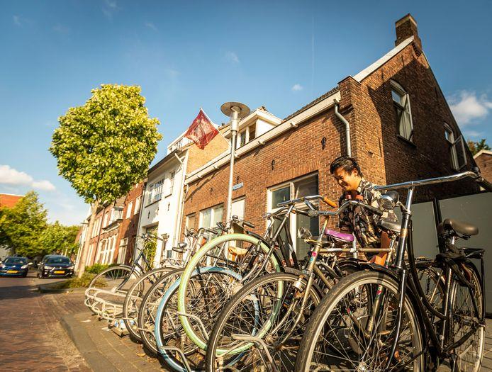 Eindhoven - Een studentenhuis in Eindhoven. Ter illustratie want het huis wordt niet genoemd in het verhaal.