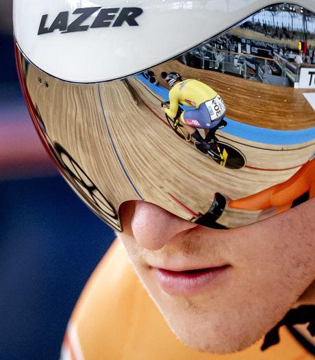 Jeffrey Hoogland oppermachtig: goud op de 1 kilometer tijdrit
