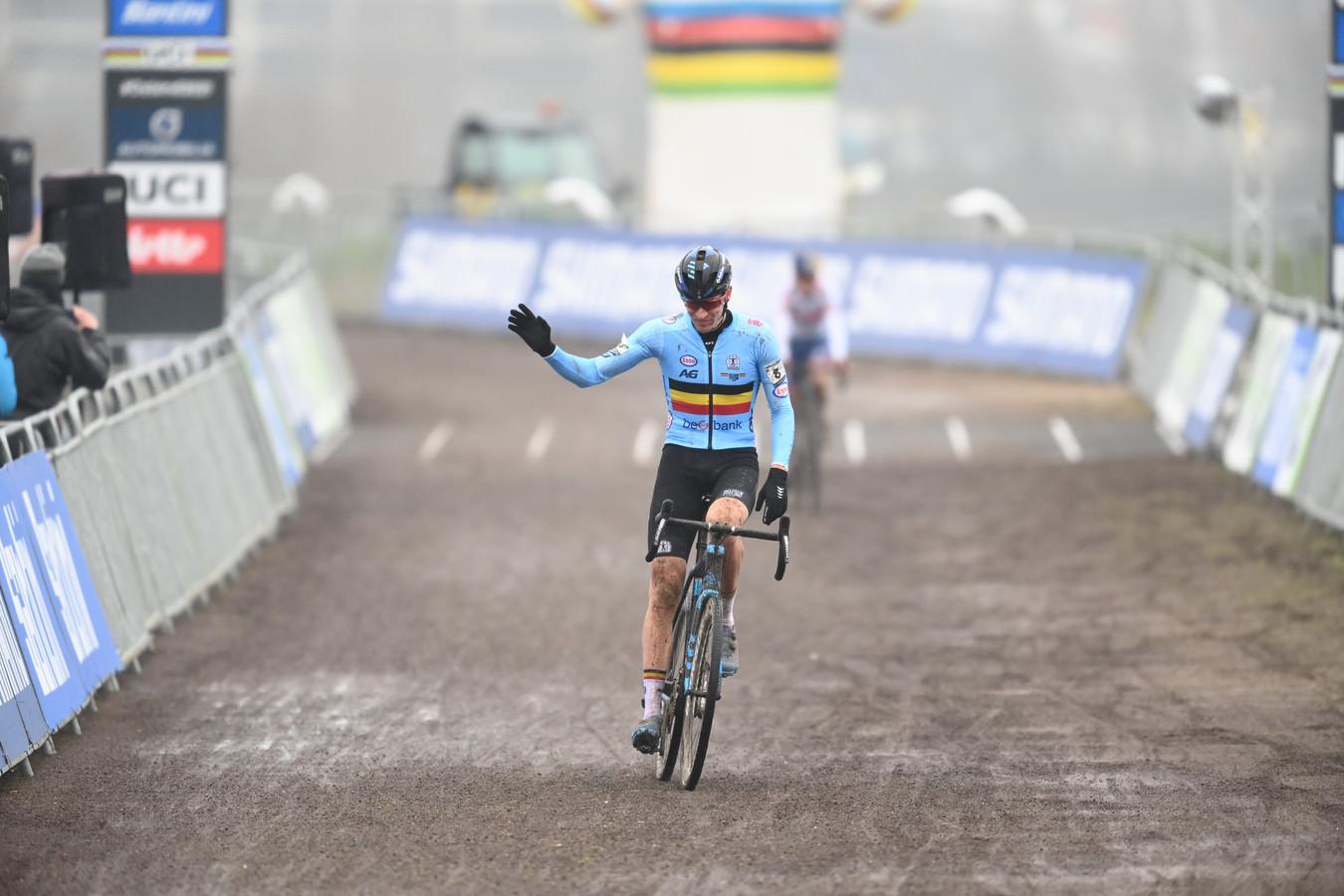 Toon Aerts werd derde. 'The best of the rest.'