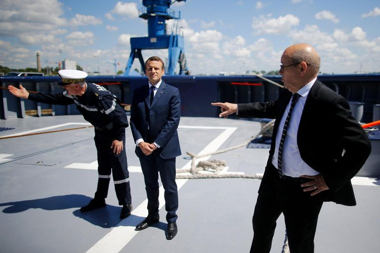 Frans president Emmanuel Macron. Beeld Reuters