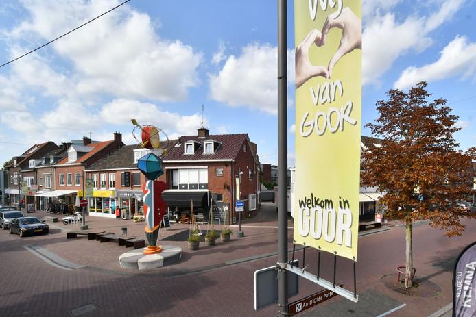 De Grotestraat in Goor wordt de straat waar het in Goor op winkelgebeid gaat gebeuren, samen met Weversplein.