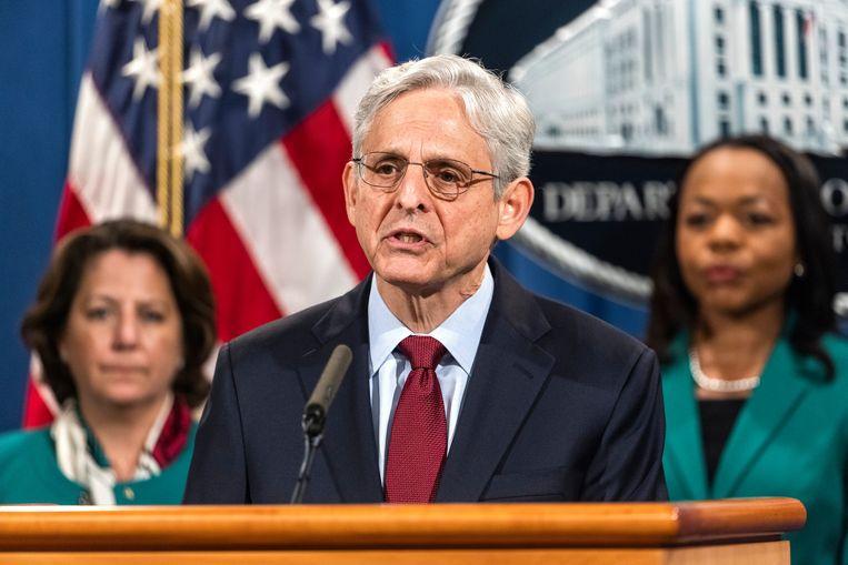 De Amerikaanse minister van Justitie Merrick Garland heeft alle federale executies voorlopig opgeschort. Beeld EPA