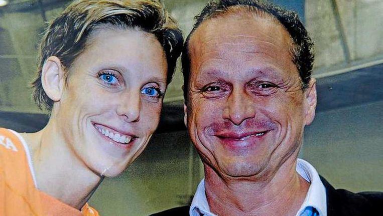 Ingrid Visser en Lodewijk Severein Beeld anp