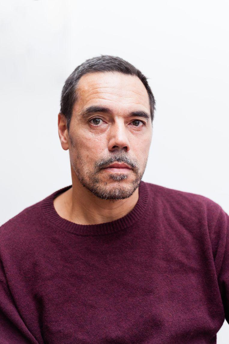 Mario Alfons: 'Als hij nog een keer wordt gestolen, koop ik er gewoon twee.' Beeld Nina Schollaardt