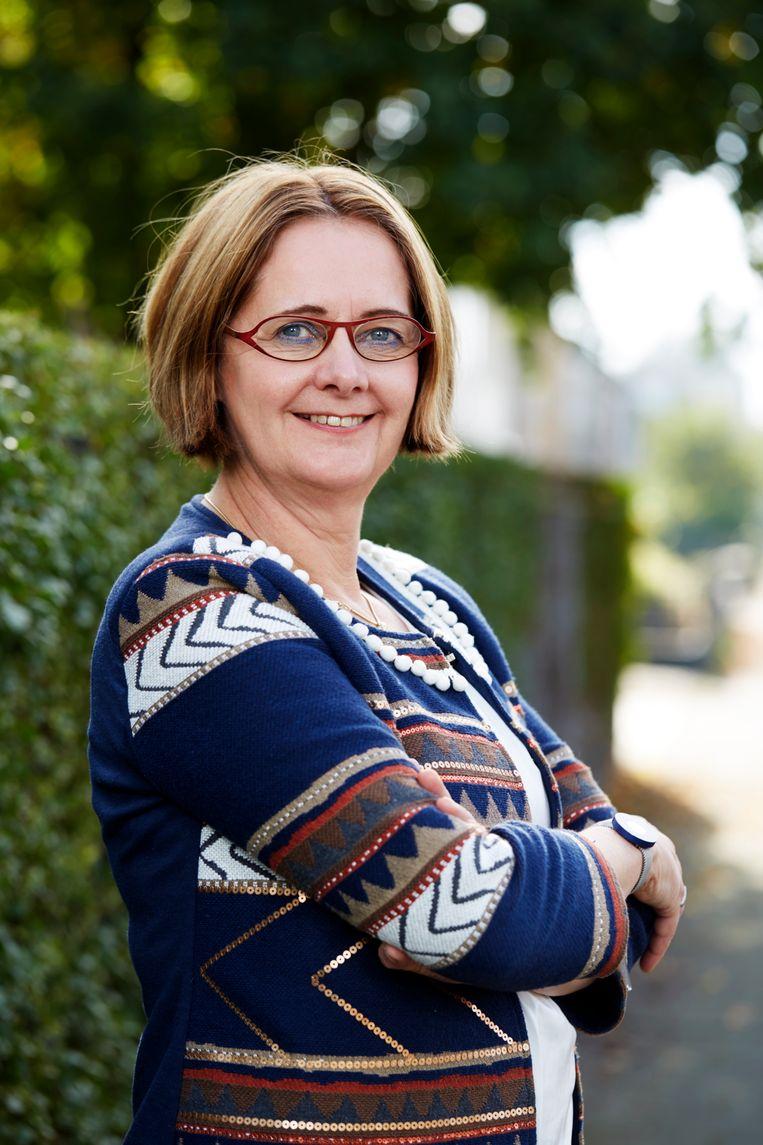Gaby van den Biggelaar, directeur van Leergeld Nederland. Beeld Leergeld Nederland