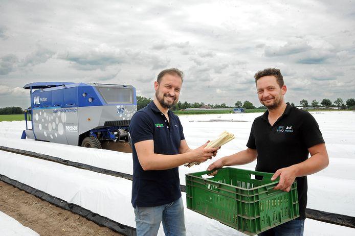 Johan Neessen (links) en Arno van Lankveld.