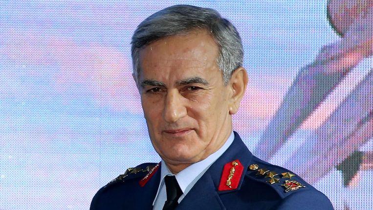 Het voormalige hoofd van de Turkse luchtmacht, Akin Öztürk. Beeld epa