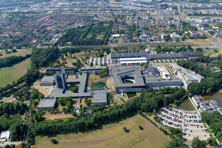 De universiteitscampus van de Universiteit Twente.  Beeld Carlo ter Ellen DTCT