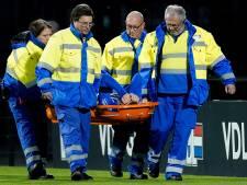 Nieuwe knieblessure Jarno Janssen overschaduwt derby: 'Ik heb dit nog nooit meegemaakt'
