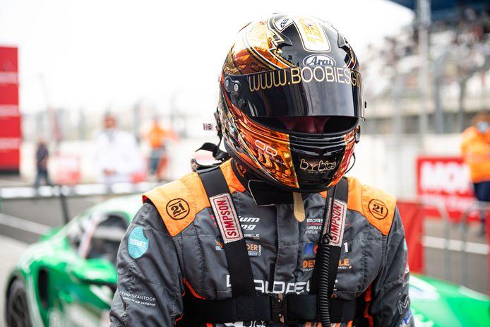 Dylan Derdaele is de aanvoerder van de Limburgers in de Porsche Carrera Cup Benelux.