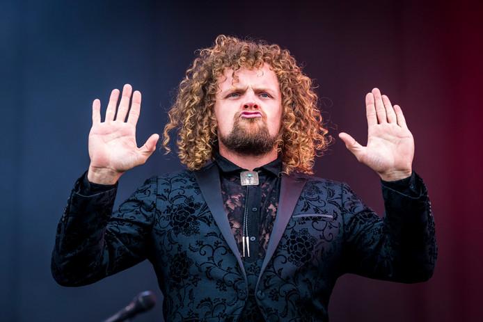 Marcel Veenendaal, de zanger van Di-rect.