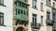 fotoreeks over Binnenkijken in een Brusselse art-nouveauparel
