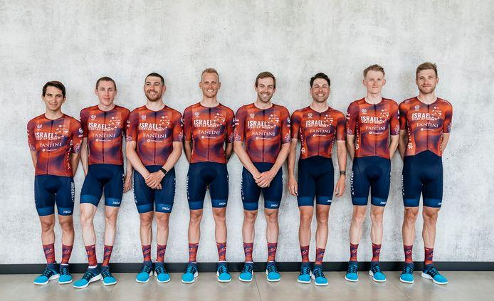 De Giro-ploeg van Israel Start-Up Nation.
