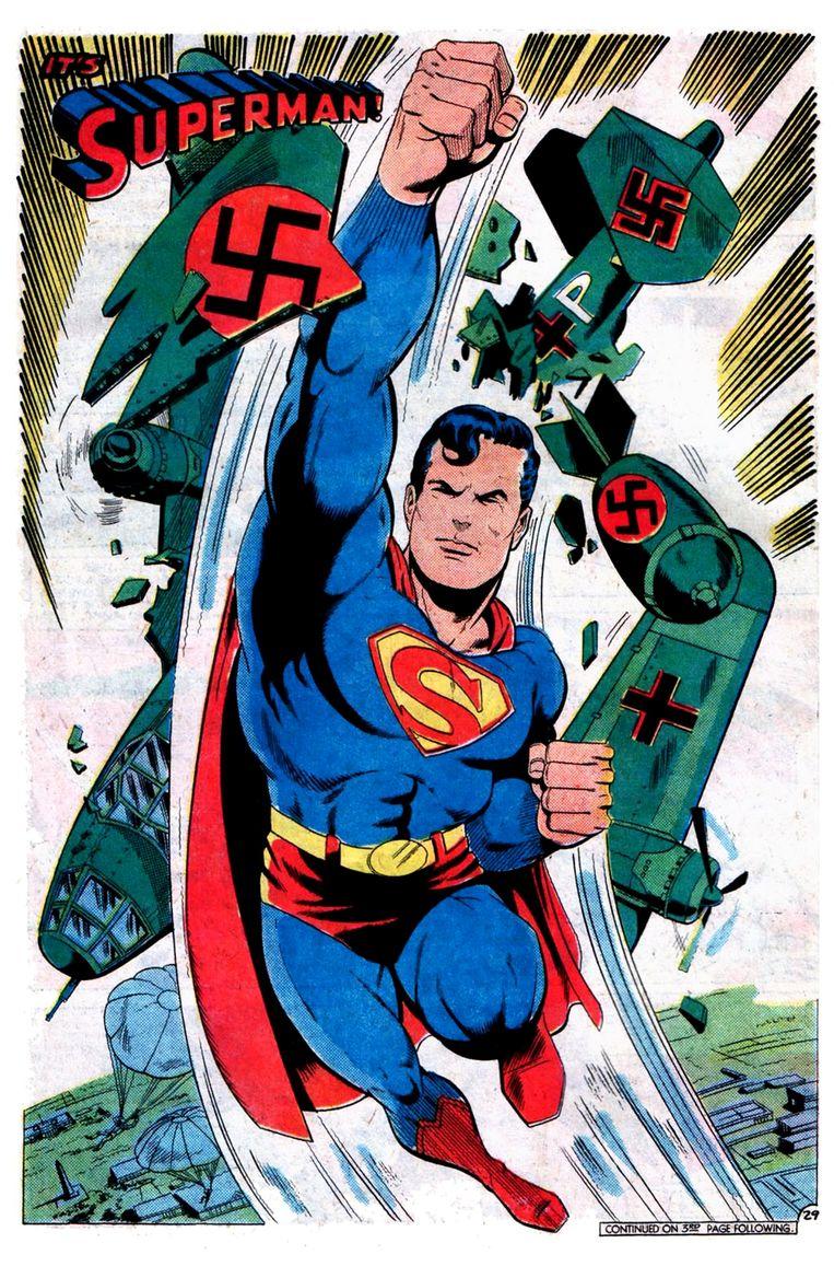 Superman. Beeld © DC Comics