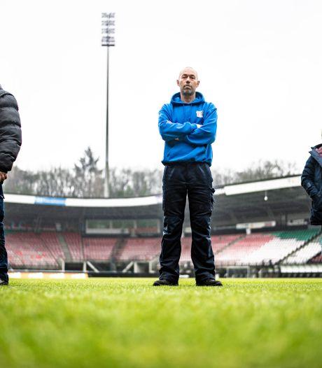Trotse grasmeesters: NEC heeft beste veld van de eerste divisie