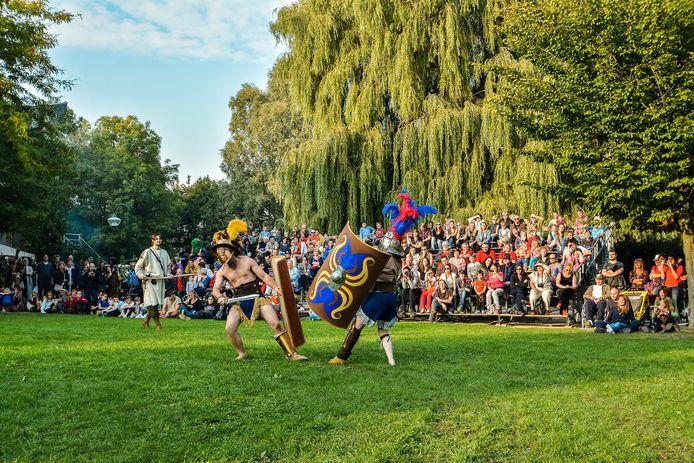 Om te beschikken over meer ruimte verlaat  het Gallo-Romeins Weekend het stadsdomein Oosthove