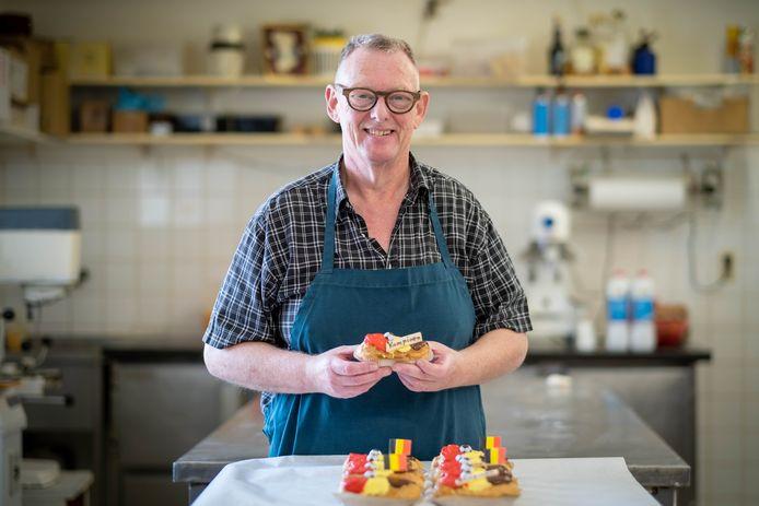 Bakker Jos Anthonis maakte tricolore gebak