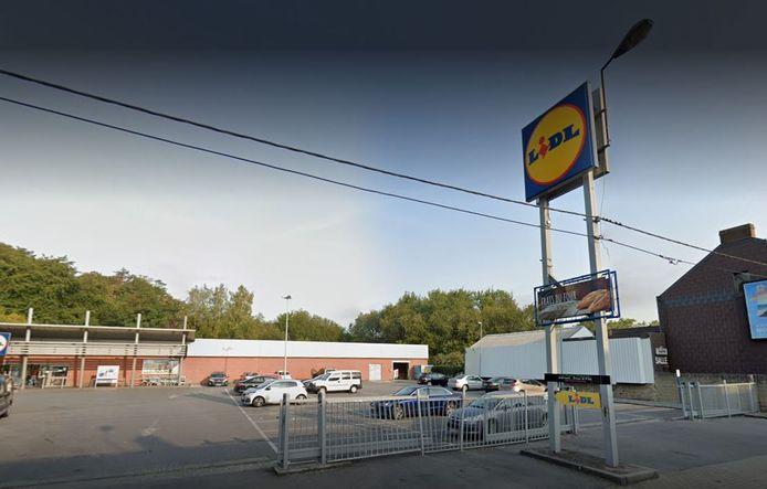 Le parking du Lidl à l'Avenue Mascaux à Marcinelle (Charleroi) a été la scène d'un vol.