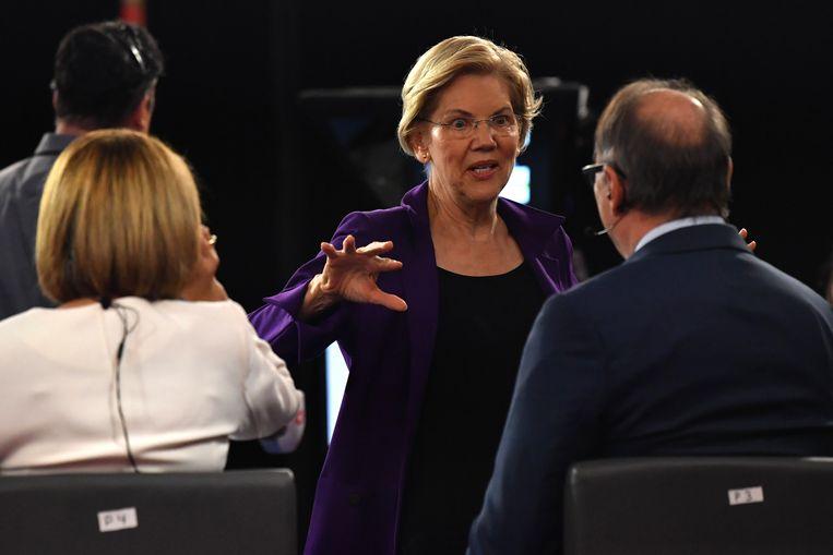 Senator Elizabeth Warren. Beeld AFP