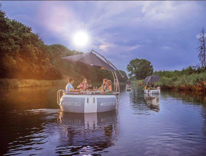 De bootjes van Boat BQ zullen ook weer ronddobberen op het Herentalse water