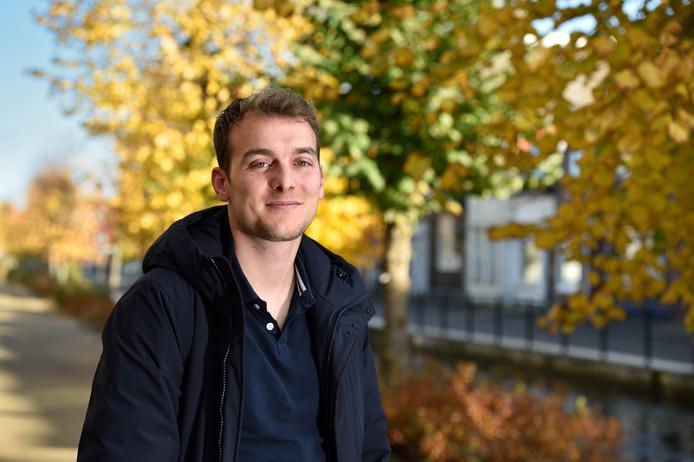 Haastrecht-voetballer Robert Dongelmans .