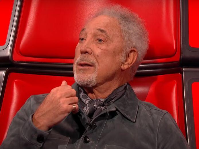 Tom Jones in The Voice UK.