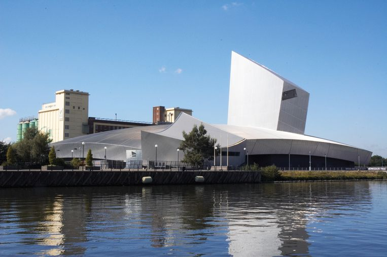 Imperial War Museum North, Salford Quays. Beeld null