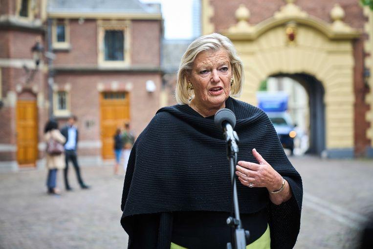 Demissionair staatssecretaris Ankie Broekers-Knol van Asiel (VVD). Beeld ANP