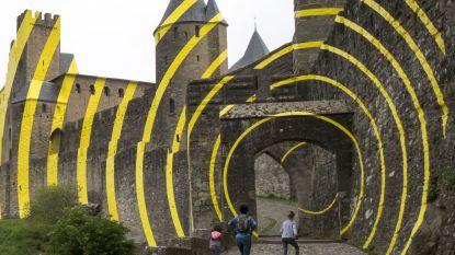 In beeld: Concentrische cirkels sieren Carcassonne
