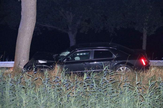 Op de Rijksweg N371 tussen Havelte en Meppel heeft rond middernacht een eenzijdig verkeersongeval plaatsgevonden.