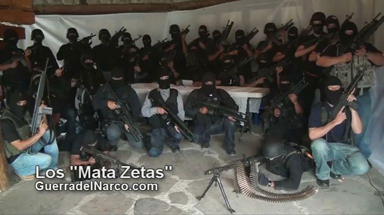 Militie die heeft gezworen de bende Los Zetas uit te schakelen. Beeld AFP