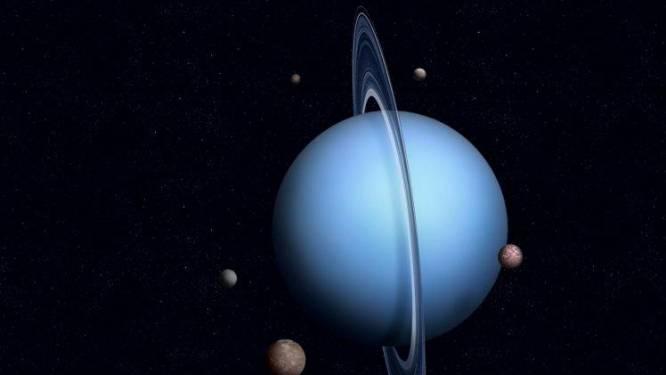 Uranus stinkt naar rotte eieren