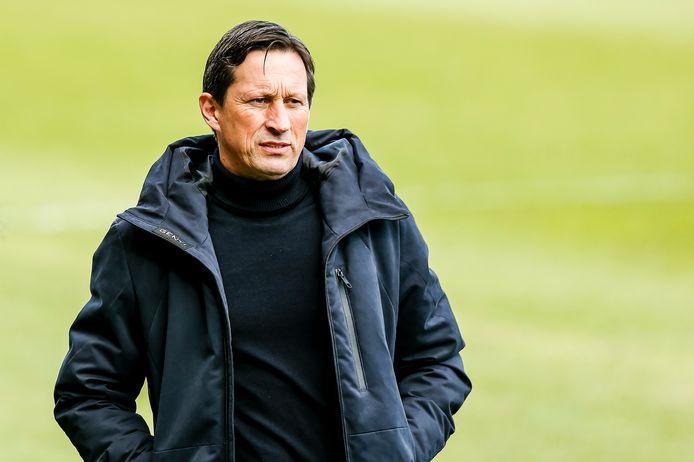 Zondag hoopt Roger Schmidt met PSV een goede stap naar plek twee in de eredivisie te kunnen zetten.