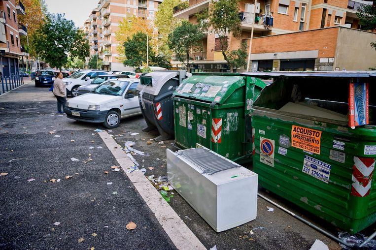 Van Schaik: 'Romeinen zeggen trots te zijn op hun stad, maar behandelen haar heel erg slecht' Beeld Getty Images