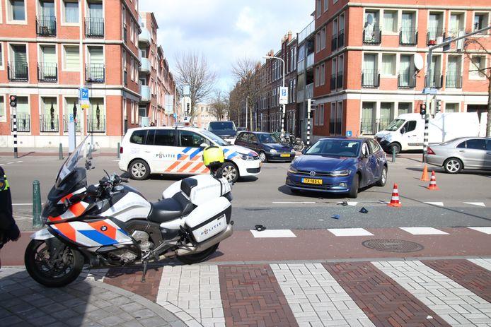 Ongelukken komen geregeld voor, zoals vorig jaar op de kruising van de Vaillantaan en de Frans Halsstraat.
