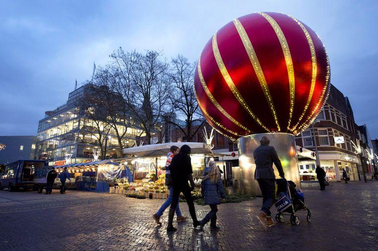 Het centrum van de Heerlen. In de stad liep een burenruzie uit de hand. Beeld Marcel van Hoorn