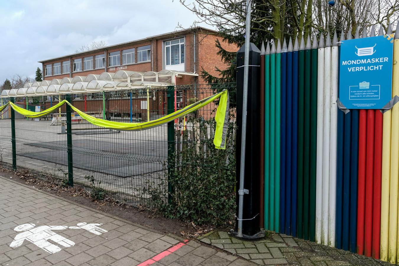 L'école primaire Olfa Elsdonk gardera ses portes fermées ce lundi.