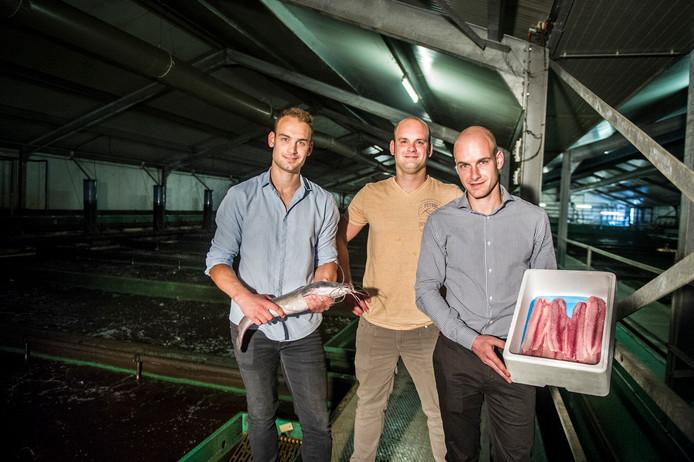 Geert, Mark en Frank (vlnr) raken klanten kwijt.